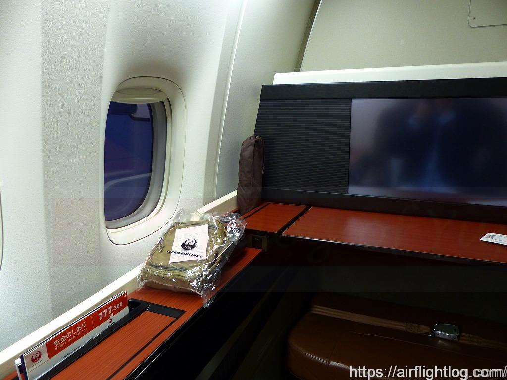JALファーストクラス座席