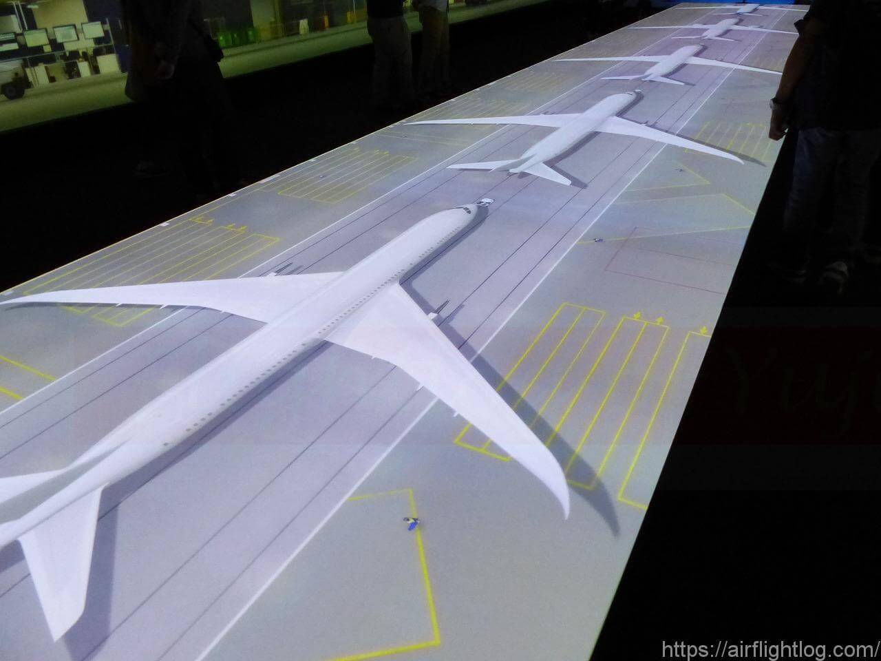 「FLIGHT OF DREAMS(フライト・オブ・ドリームズ)」案内板ボーイングファクトリー