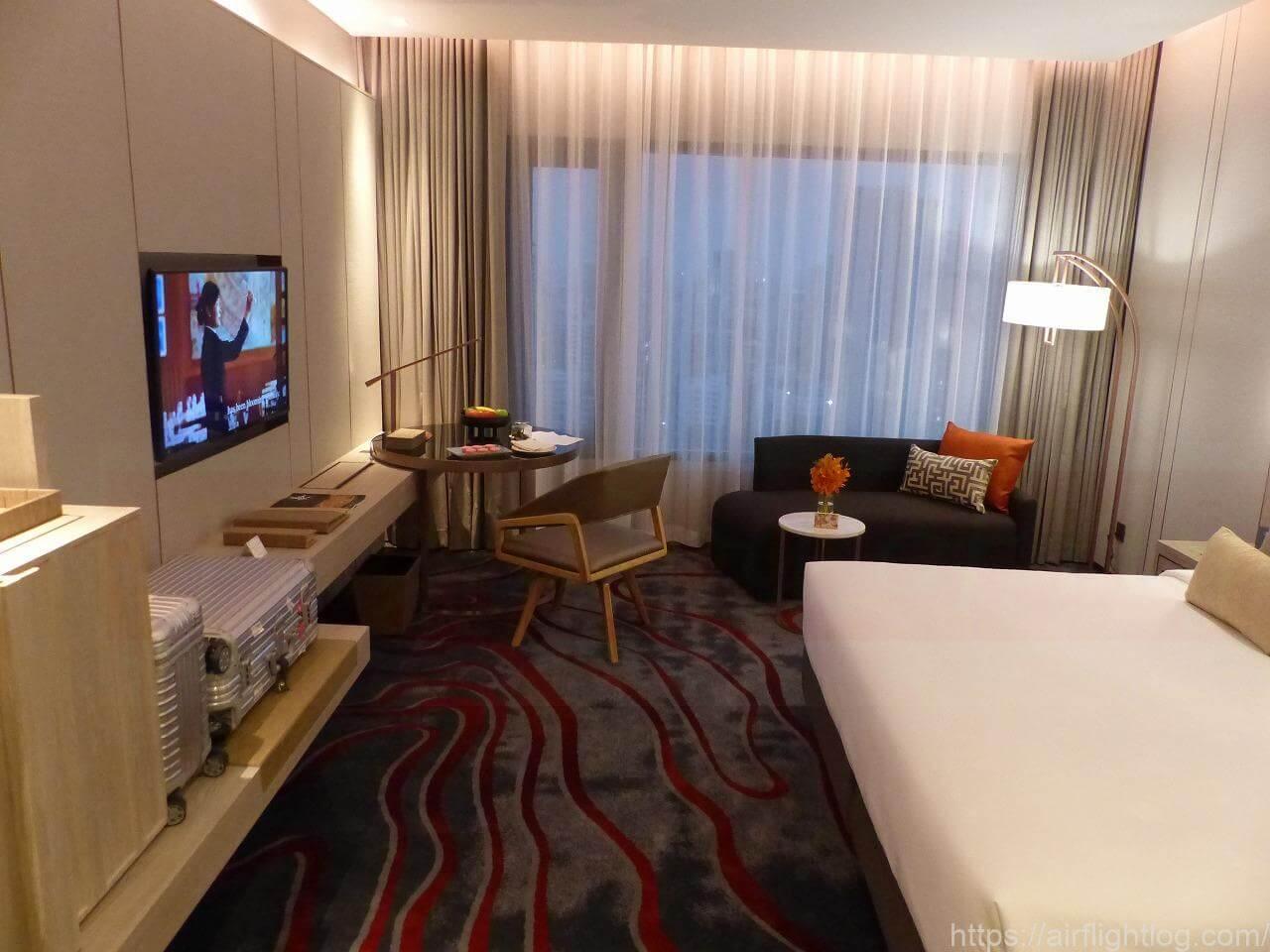 ホテル ニッコー・バンコク「ニッコー・クラブ」客室