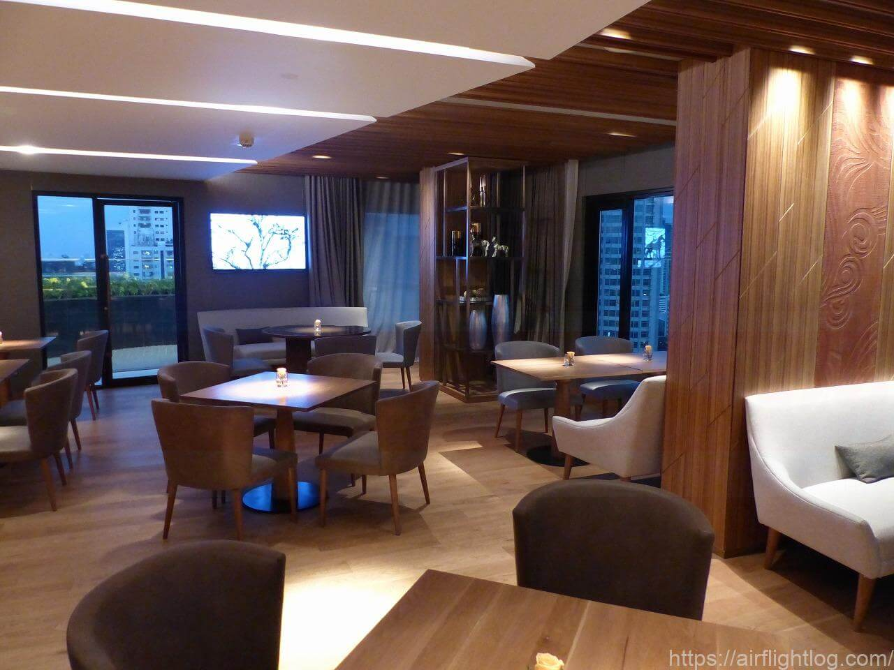 ホテル ニッコー・バンコク「エグゼクティブラウンジ」室内