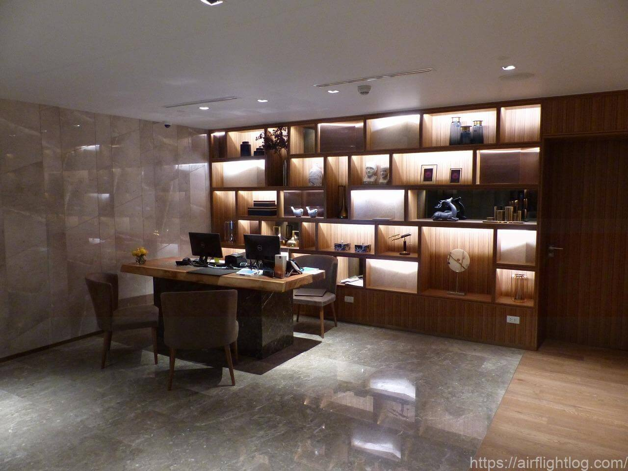 ホテル ニッコー・バンコク「エグゼクティブラウンジ」エントランス
