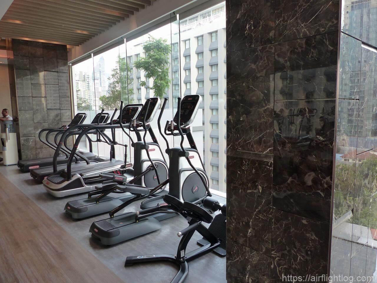 ホテル ニッコー・バンコク「フィットネスセンター」