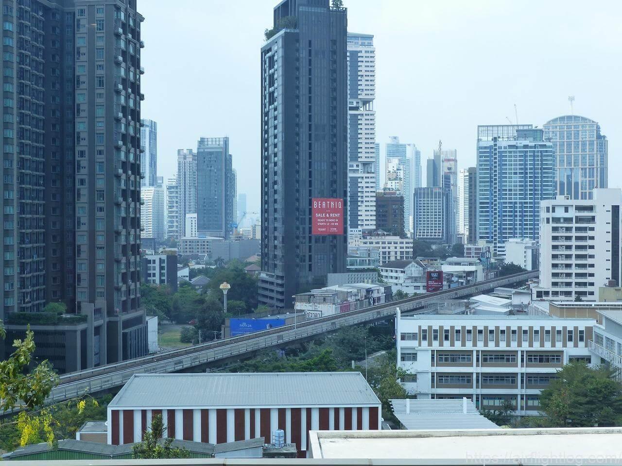 ホテル ニッコー・バンコク風景