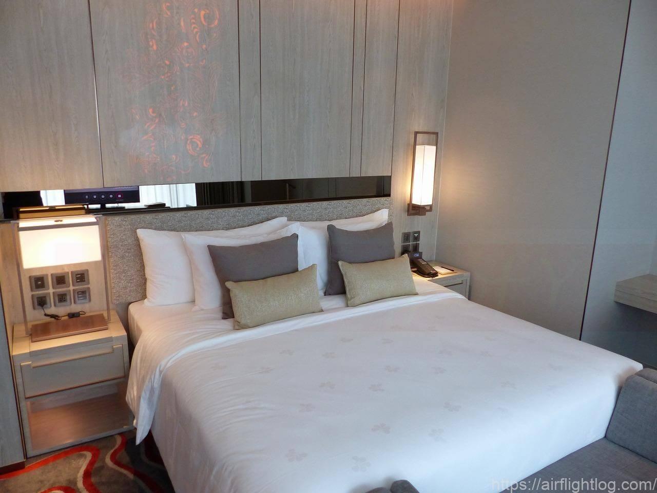 ホテル ニッコー・バンコク「プレミアルーム」客室