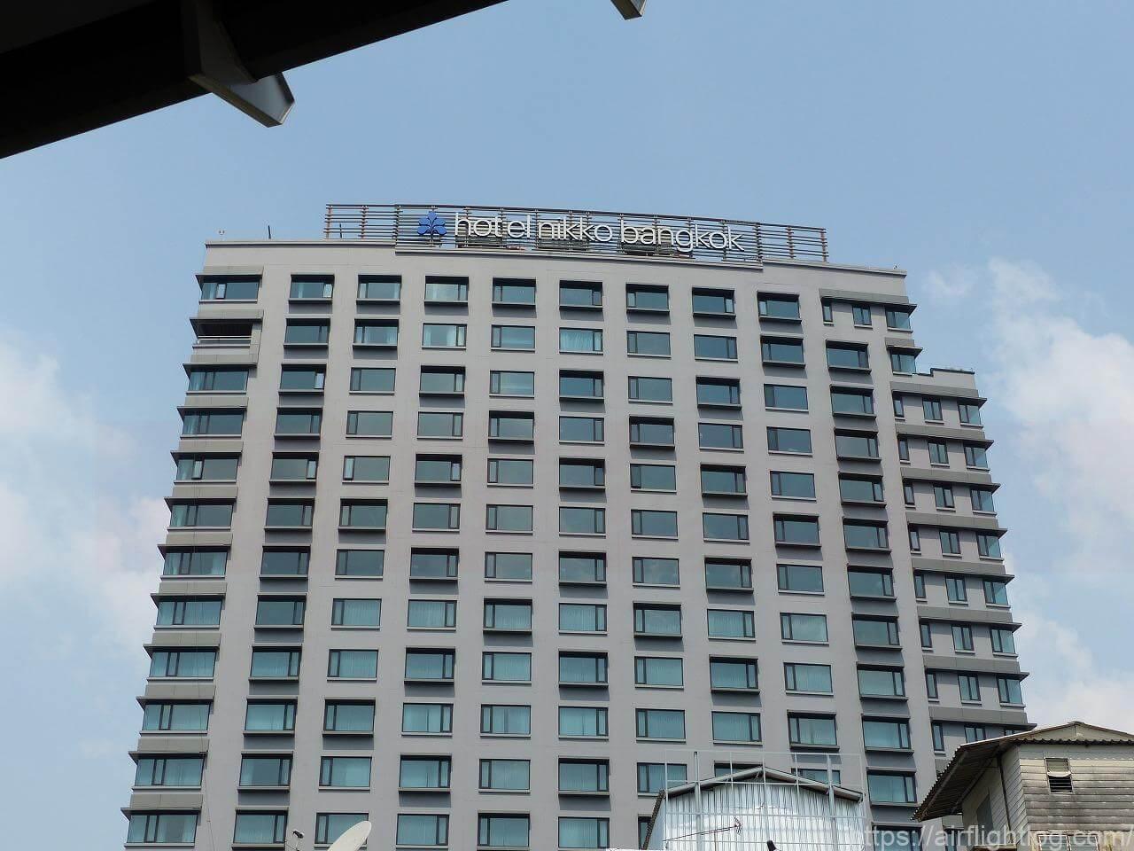 ホテル ニッコー・バンコク外観