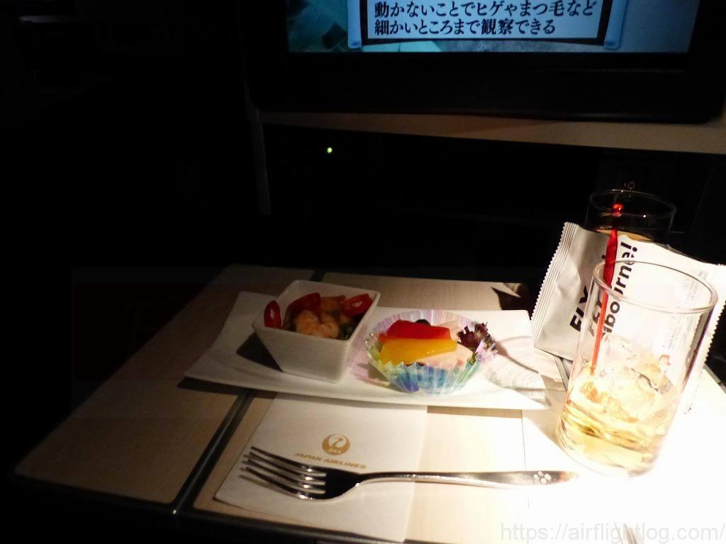 JAL深夜便軽食