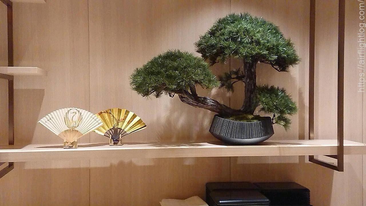 JAL成田空港ファーストクラスラウンジ「鮨 鶴亭(SUSHI TSURUTEI)」