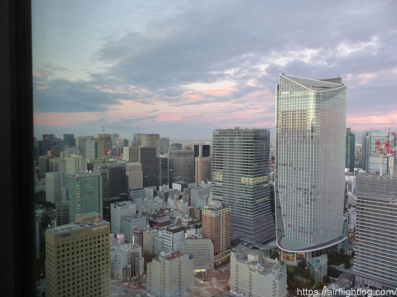 The Okura Tokyo(オークラ東京)ホテルラウンジ風景