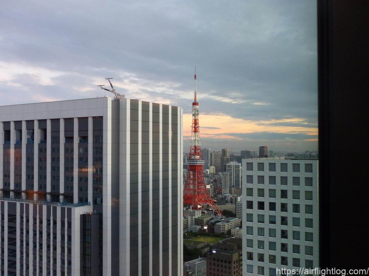 The Okura Tokyo(オークラ東京)ホテルラウンジ東京タワーサイド