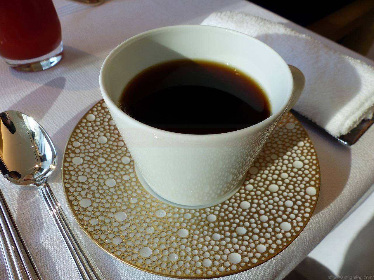 The Okura Tokyo(オークラ東京)朝食「ヌーヴェル・エポック」食後のコーヒー