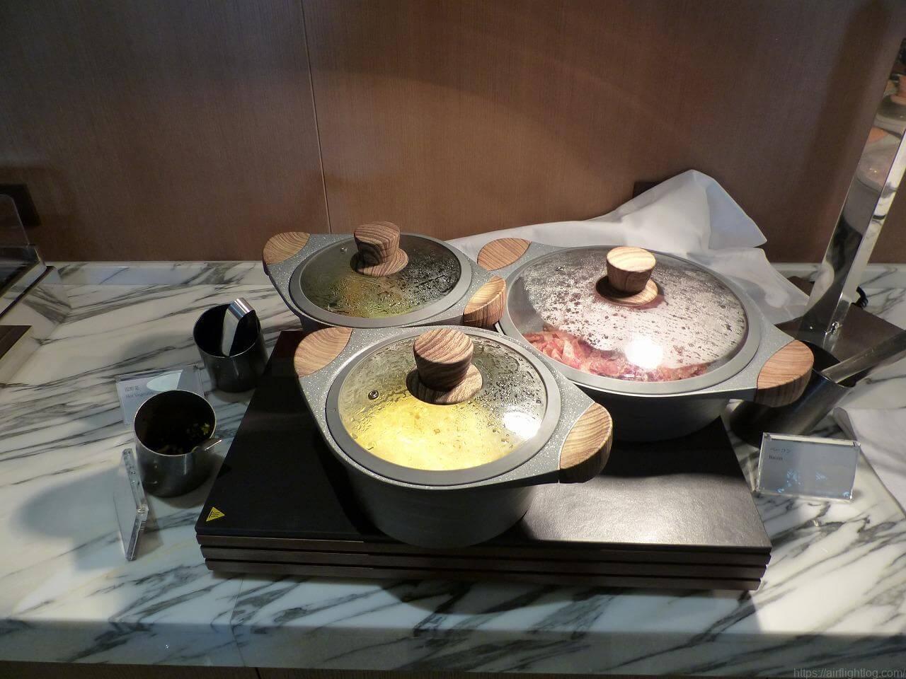 The Okura Tokyo(オークラ東京)朝食「クラブラウンジ」ホットミール