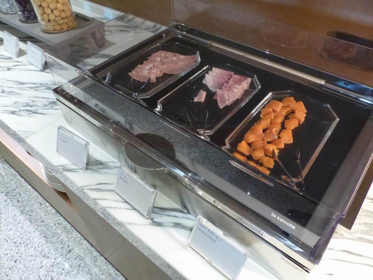 The Okura Tokyo(オークラ東京)朝食「クラブラウンジ」コールドミール