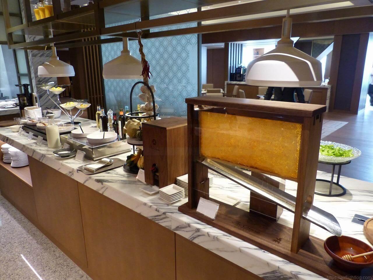 The Okura Tokyo(オークラ東京)朝食「クラブラウンジ」フードコーナー