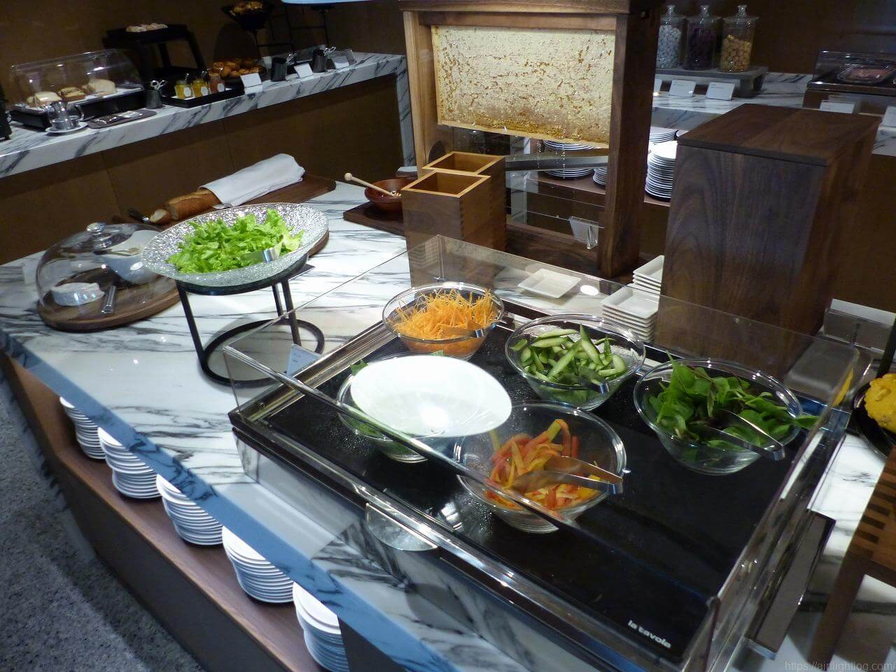 The Okura Tokyo(オークラ東京)朝食「クラブラウンジ」サラダバー