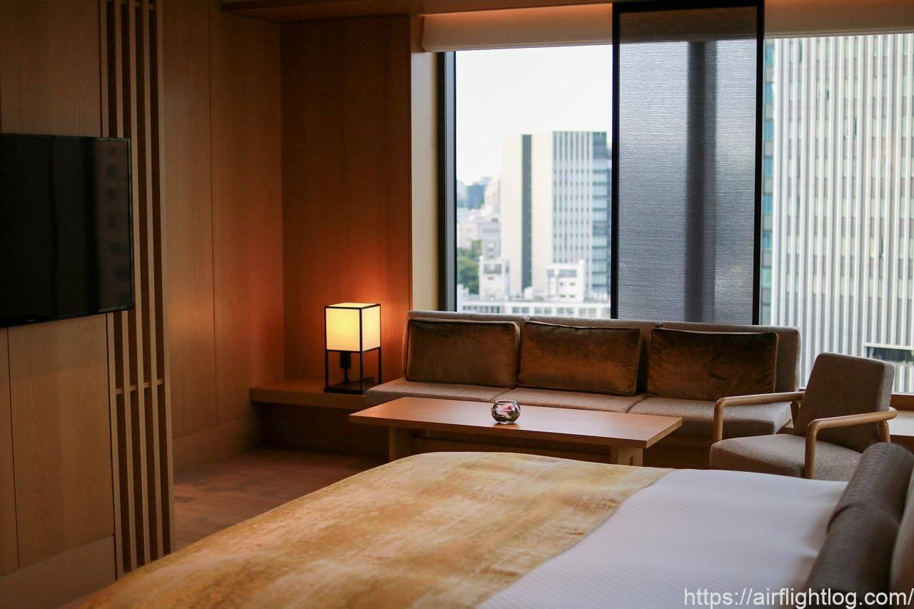 The Okura Tokyo(オークラ東京)ヘリテージウイング(客室)