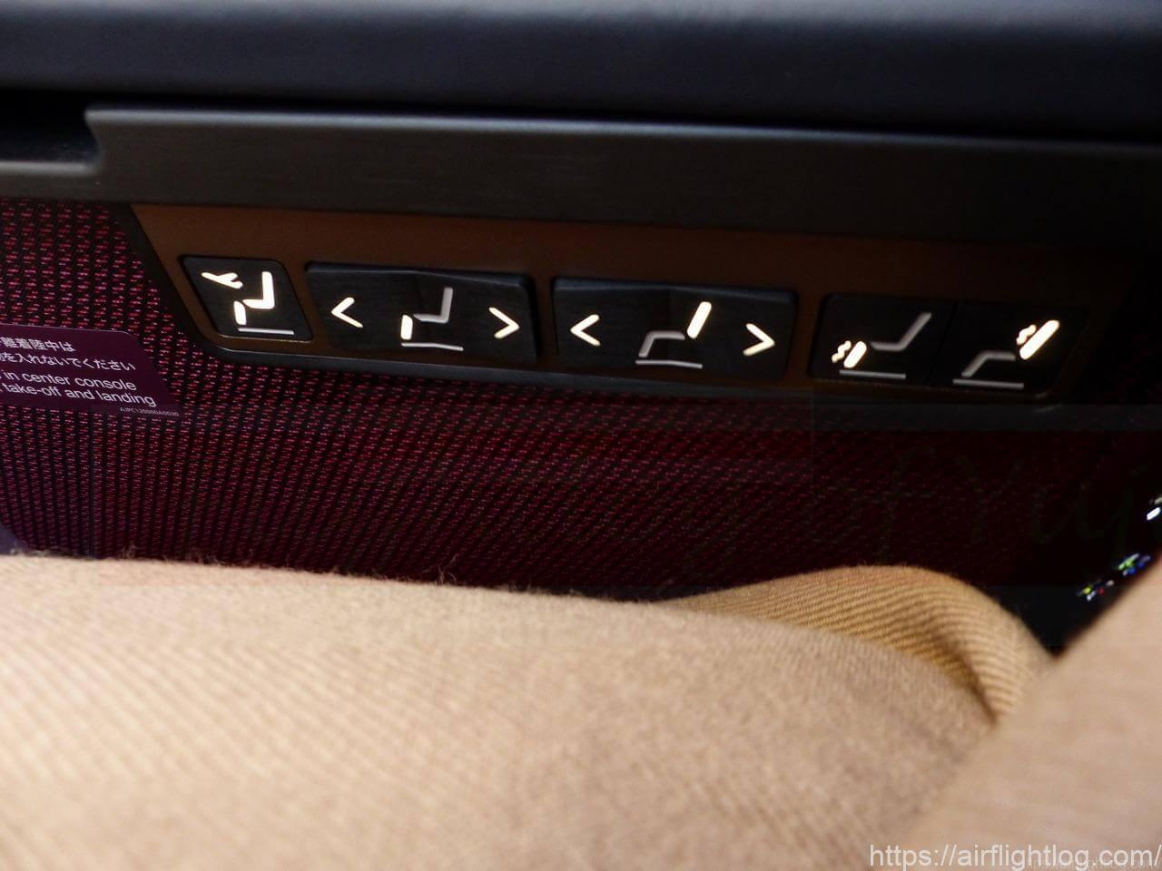 JALA350-900ファーストクラスシート電動スイッチ