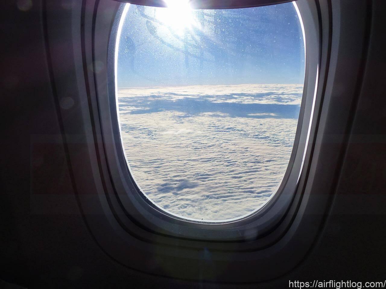 機内からの空